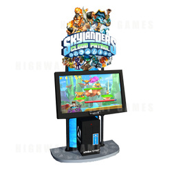 Skylanders Cloud Patrol Arcade Machine