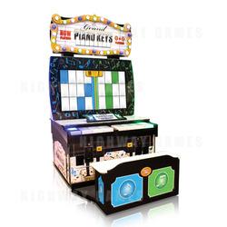 Grand Piano Keys Arcade Machine