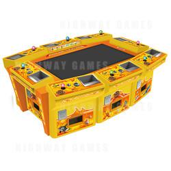 King of Treasures 8 Player Arcade Machine