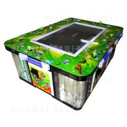 Dragon King 6 Player Arcade Machine
