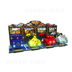 Dido Kart 4 Player Motion Deluxe Arcade Machine