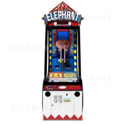 Red Elephant Arcade Machine