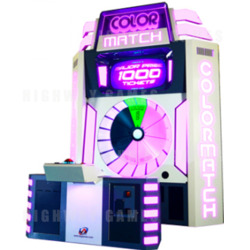 Mega Color Match Lite Arcade Machine