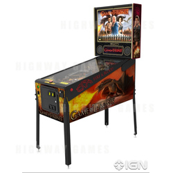 Game of Thrones Limited Edition Pinball Machine
