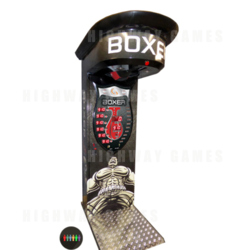 Boxer Power Black Multi Arcade Machine