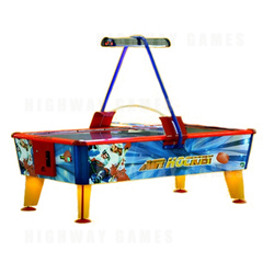 Gold 6Ft Air Hockey Table