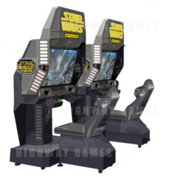Star Wars Battle Pod Flat Screen Arcade Machine