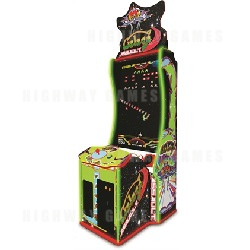 Galaga Assault Arcade Machine