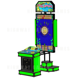 Frog Around Arcade Machine