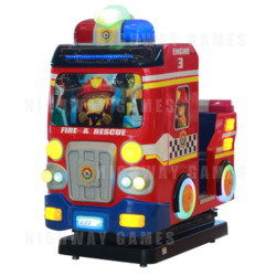 Fire Rescue Arcade Machine