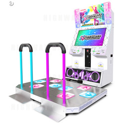 Dance Dance Revolution 2013 (White Cabinet) Arcade Machine