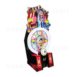 Magician's Wheel Arcade Machine