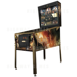 The Hobbit Smaug Gold Special Edition Pinball Machine