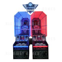 HYPERshoot Basketball Arcade Machine