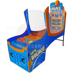 Let's Bounce Action & Skill Redemption Game
