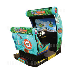 Let's Go Island Dream Edition Motion Arcade Cabinet