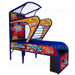 Shooting Hoops Ticket Redemption Machine