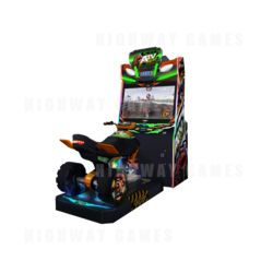ATV Slam Driving Arcade Machine