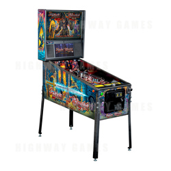 Black Knight: Sword of Rage Pinball Machine - Pro Version