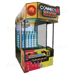 Connect 4 Hoops Arcade Machine
