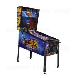 Willy Wonka Pinball Machine - Standard Edition