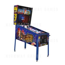 Willy Wonka Pinball Machine - Limited Edition