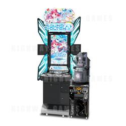 Sound Voltex 4 Arcade Machine