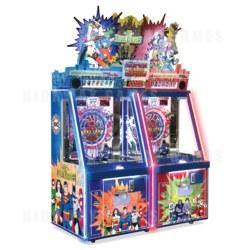 DC Superheroes 2 Player Ticket Pusher Machine