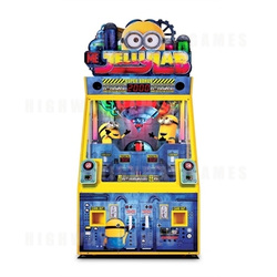 Despicable Me Jelly Lab Redemption Machine