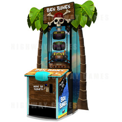 "Ben Bones 43"" Ticket Redemption Machine"