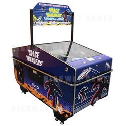 Space Invaders Pinball Jam Arcade Machine