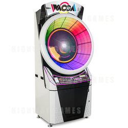 WACCA Arcade Machine