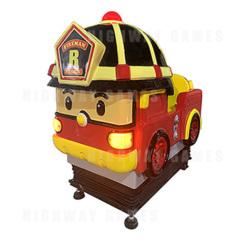 Roy Fireman - Mini Kiddie Ride Machine