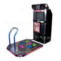 Dance Dance Revolution Solo 2000 Arcade Machine