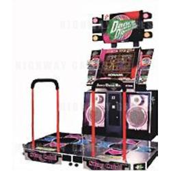 Dance Dance Revolution Arcade Machine