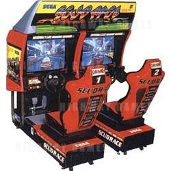Scud Race Arcade Machine
