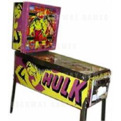 Incredible Hulk Pinball (1979)