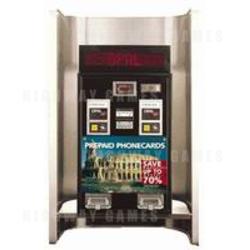 Model Slim DD & DDS Model Phone Card dispensers
