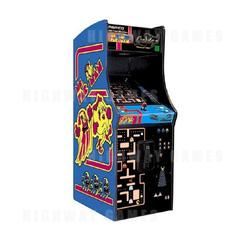 Ms. Pac-Man / Galaga - Upright Cabinet
