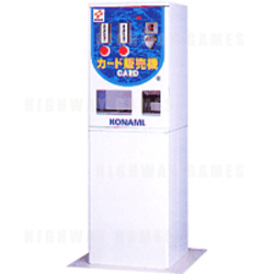 Konami magnetic card vender