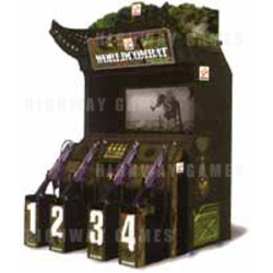 World Combat DX Arcade Machine