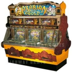 Arabian Gold Pusher Coin Pusher Medal Machine