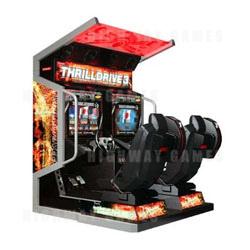 Thrill Drive 3 Arcade Machine