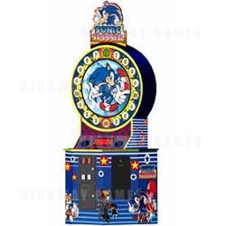 Sonic Spinner Arcade Machine