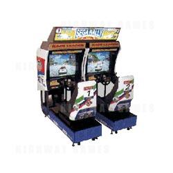 Sega Rally Twin Arcade Driving Machine
