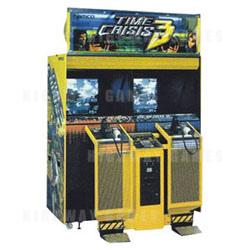 Time Crisis 3 SD (Japan Model) Arcade Machine