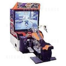 Harley Davidson LA Riders DX Arcade Machine