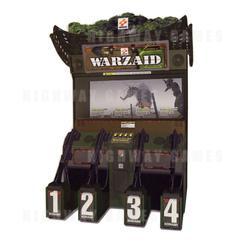 Warzaid 4 Player Arcade Machine