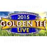 Golden Tee LIVE 2015 Arcade Machine